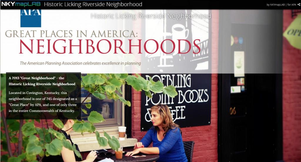 Historic Licking Riverside Neighborhood Story Map
