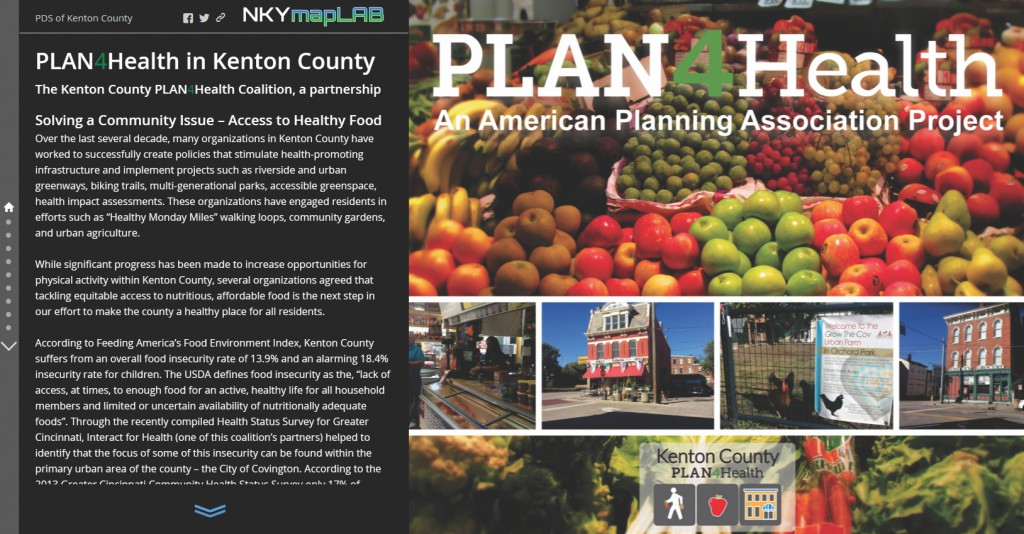 Plan4Health Story Map