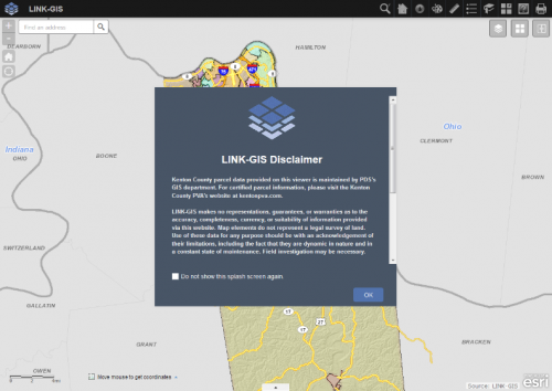 Opening the Viewer - LINK-GIS on gis city map of texas, gis map layers, gis maps online,