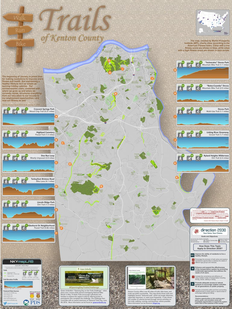 January 2016 NKYmapLAB Trails map and poster