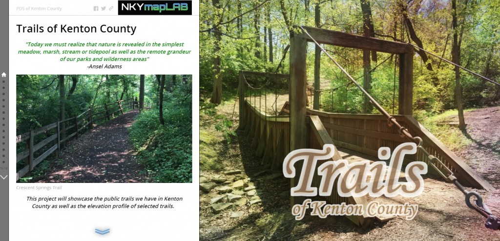 January 2016 NKYmapLAB Trails Story Map