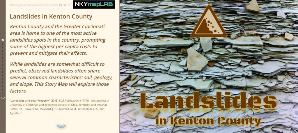 Landslides Story Map